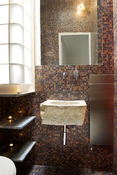 Bagno mosaico giuseppe di palo architect - Bagni con mosaico ...